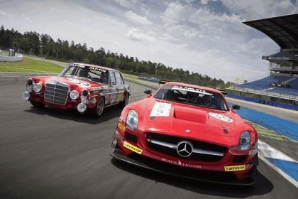 2011 Mercedes-Benz SLS AMG GT3 Black Falcon 5