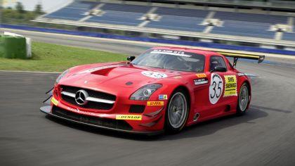 2011 Mercedes-Benz SLS AMG GT3 Black Falcon 8