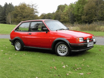 1985 Ford Fiesta XR2 3