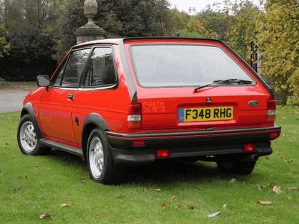 1985 Ford Fiesta XR2 6