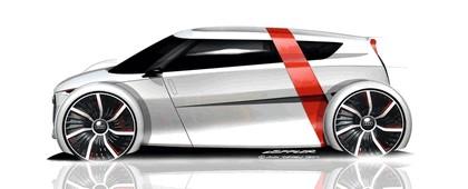 2011 Audi urban concept - drawings 2
