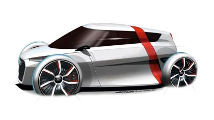 2011 Audi urban concept - drawings 5