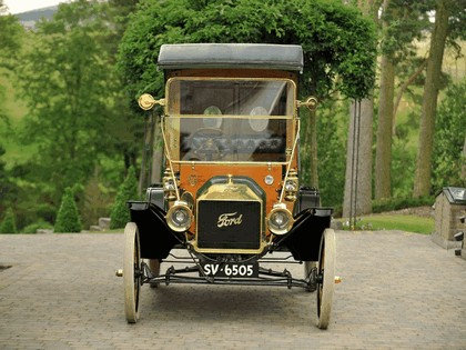 1912 Ford Model T delivery car 4