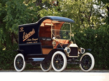 1912 Ford Model T delivery car 5