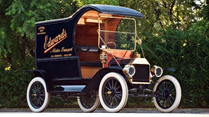 1912 Ford Model T delivery car 7