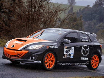 2010 Mazda 3 MPS ( Targa Tasmania ) 11