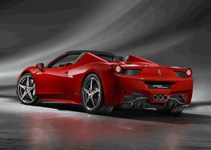 2011 Ferrari 458 Italia spider 2