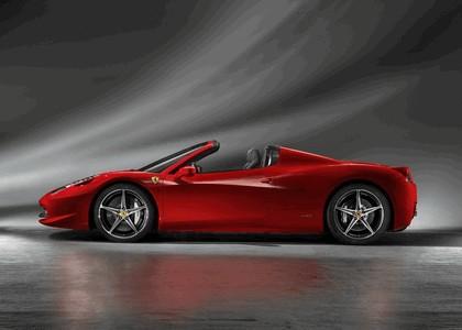2011 Ferrari 458 Italia spider 3