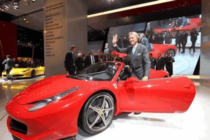2011 Ferrari 458 Italia spider 22