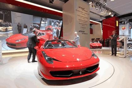 2011 Ferrari 458 Italia spider 23