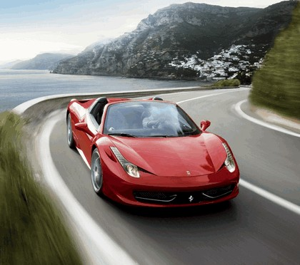 2011 Ferrari 458 Italia spider 28