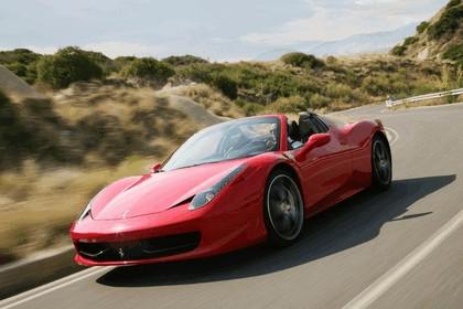 2011 Ferrari 458 Italia spider 34