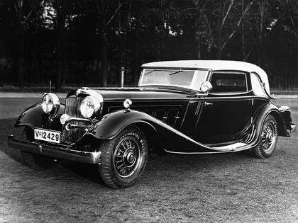 1932 Horch 670 sport cabriolet 1