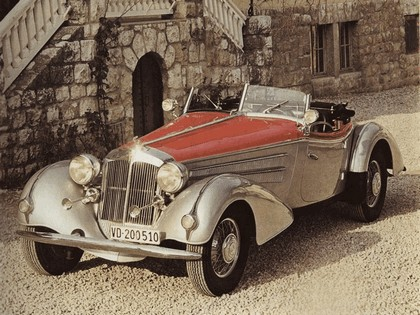 1937 Horch 850 roadster 1