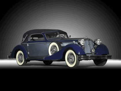 1937 Horch 853 A sport cabriolet 1