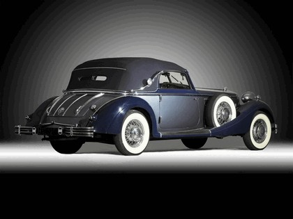 1937 Horch 853 A sport cabriolet 3