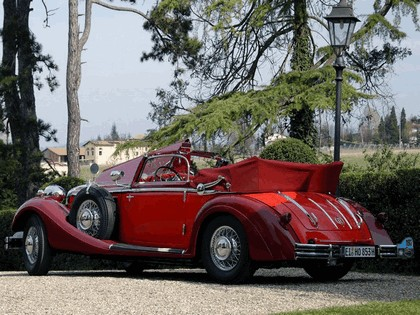 1937 Horch 853 A sport cabriolet 6