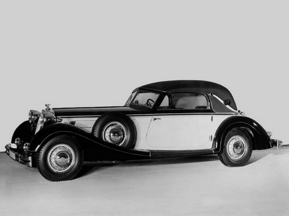 1937 Horch 853 A sport cabriolet 7