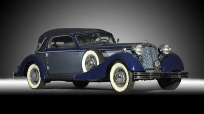 1937 Horch 853 A sport cabriolet 4