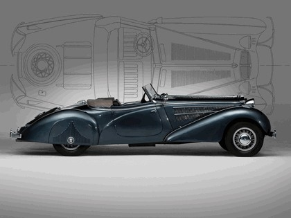 1938 Horch 853 special roadster 5