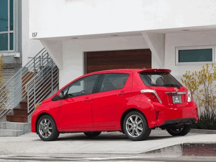2011 Toyota Yaris SE 5-door - USA version 2
