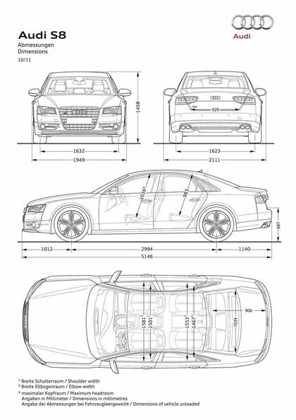 2011 Audi S8 27