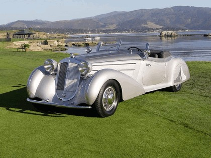 1938 Horch 853 special roadster by Erdmann and Rossi 4