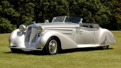 1938 Horch 853 special roadster by Erdmann and Rossi 7
