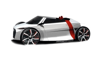 2011 Audi urban concept spyder - drawings 1
