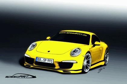 2011 SpeedART SP91-R ( based on Porsche 911 991 Carrera S ) - drawings 1