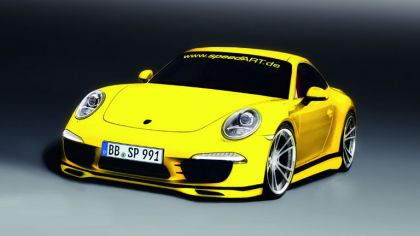 2011 SpeedART SP91-R ( based on Porsche 911 991 Carrera S ) - drawings 2