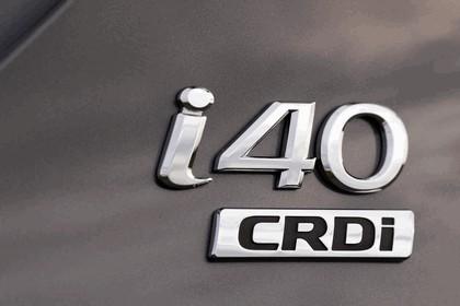 2011 Hyundai i40 station wagon CRDi - UK version 95