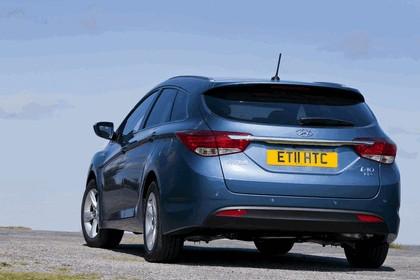2011 Hyundai i40 station wagon Blue Drive - UK version 2