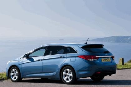 2011 Hyundai i40 station wagon Blue Drive - UK version 4