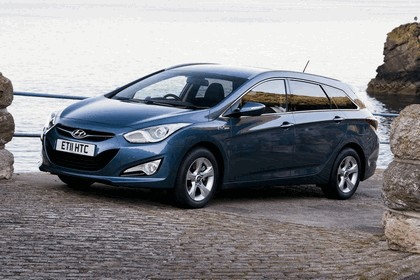 2011 Hyundai i40 station wagon Blue Drive - UK version 5