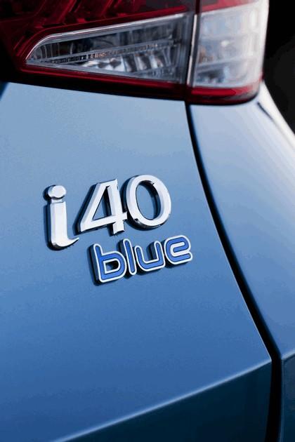 2011 Hyundai i40 station wagon Blue Drive - UK version 15