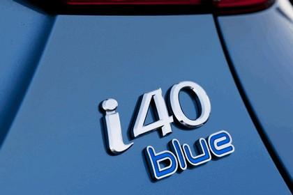 2011 Hyundai i40 station wagon Blue Drive - UK version 16