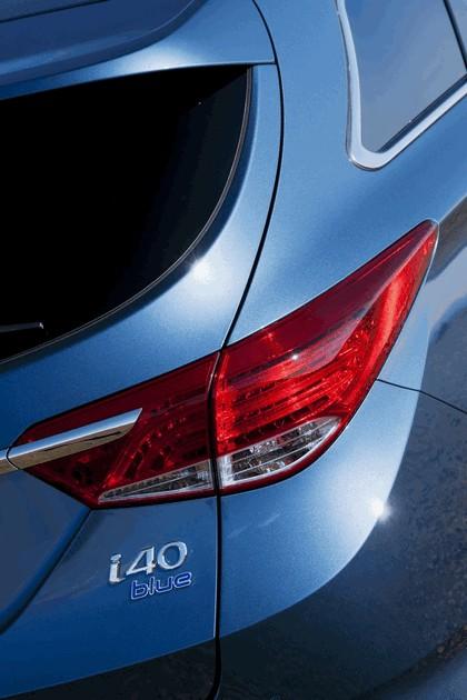 2011 Hyundai i40 station wagon Blue Drive - UK version 17