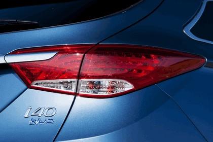 2011 Hyundai i40 station wagon Blue Drive - UK version 18