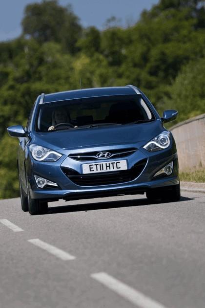 2011 Hyundai i40 station wagon Blue Drive - UK version 25