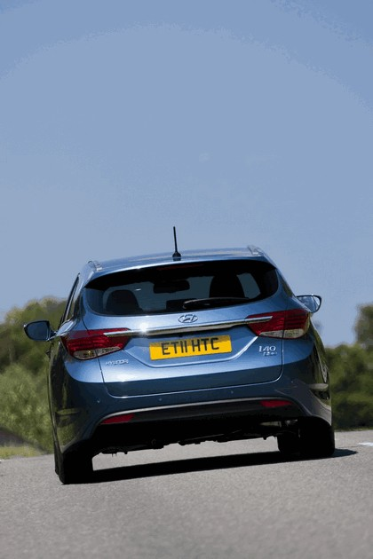 2011 Hyundai i40 station wagon Blue Drive - UK version 26
