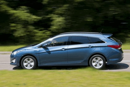 2011 Hyundai i40 station wagon Blue Drive - UK version 31