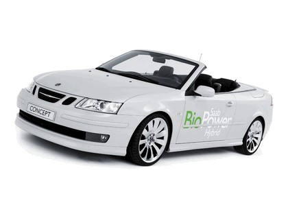 2006 Saab 9-3 Convertible BioPower Hybrid concept 1