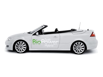 2006 Saab 9-3 Convertible BioPower Hybrid concept 2