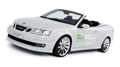 2006 Saab 9-3 Convertible BioPower Hybrid concept 7