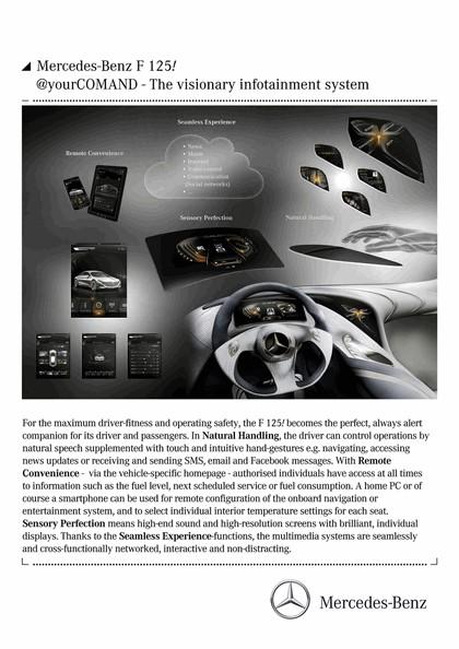2011 Mercedes-Benz F125 concept 60