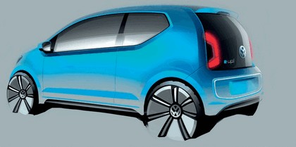2011 Volkswagen e-Up concept 4