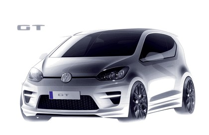 2011 Volkswagen GT Up concept 3