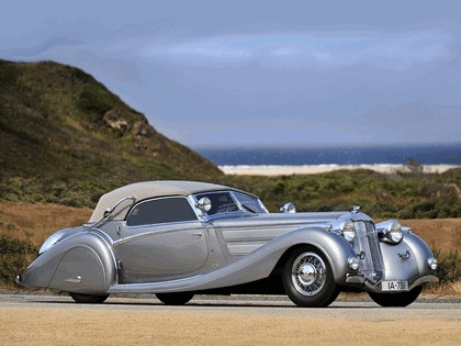 1935 Horch 853 sport cabriolet by Voll and Ruhrbeck 1