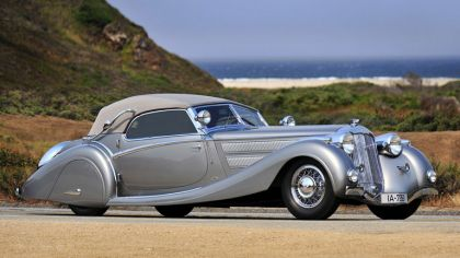 1935 Horch 853 sport cabriolet by Voll and Ruhrbeck 8